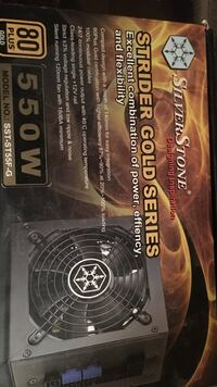 Strider gold 550w power supply for pc  Sterling, 20164