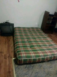 green, white, and red plaid bed mattress Montréal, H3N 2E4