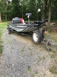 91 sea nymph tx175 tournament. 87 ez load trailer with brand new tires and wheels. 48 hp evinrude. 82lb 24v motorguide trolling motor. 2 lowrance fish finders. New wiring done last summer. $3200 B/O or trade for nice 4x4 atv Winchester, 22602