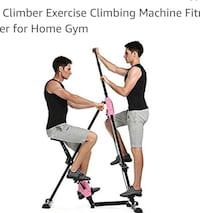 Anfan Vertical Climber Exercise Climbing Machine Fitness home gym
