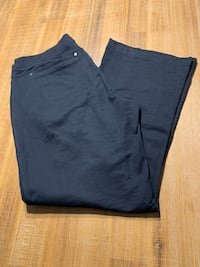 Urban cotton company black jogging pants women's size large