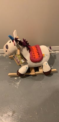 New Rocking horse with tags