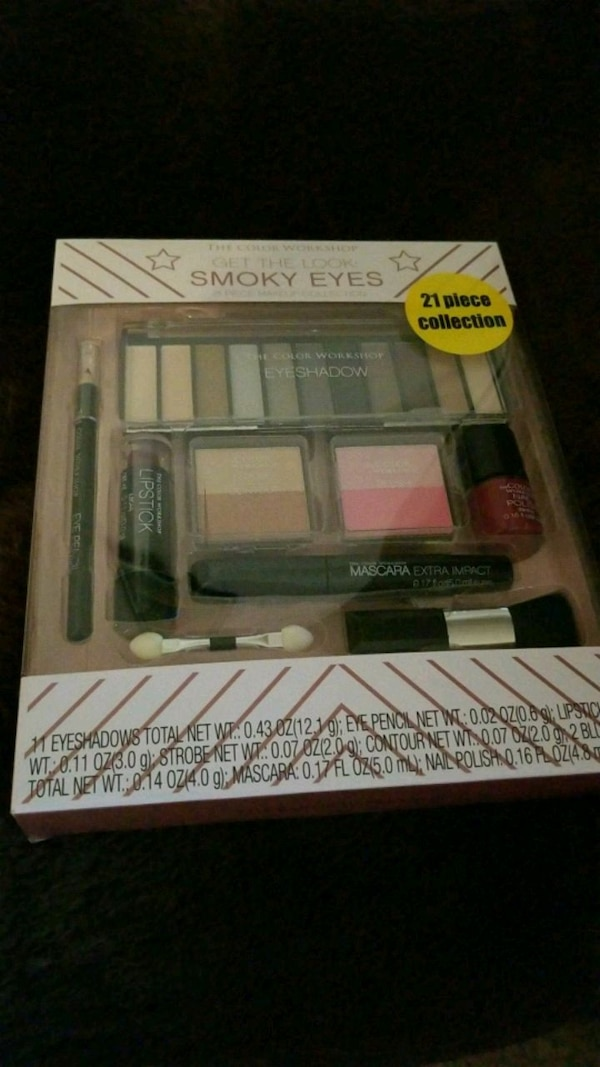 NEW The Color Workshop get the look Smoky Eyes box