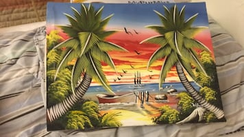 canvas cloth painting