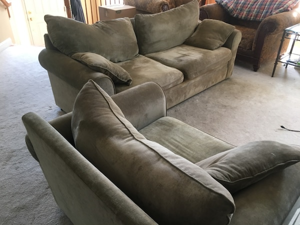 Awesome Used Haverty Couch And Chair For Sale In Leesburg Letgo Lamtechconsult Wood Chair Design Ideas Lamtechconsultcom