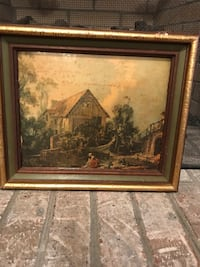 Vintage painting no glass