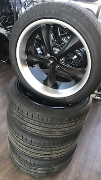 Almost new staggered 20 in Wheels and tires Amarillo, 79107