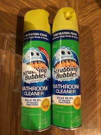 2 Scrubbing Bubbles bathroom cleaners Silver Spring, 20905