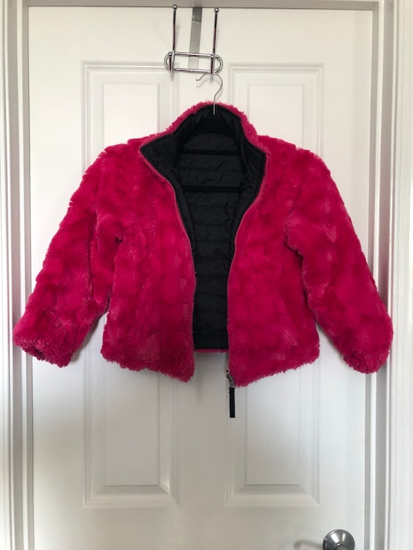 Girls Reversible Jacket, Size 6x 179e83e5-4518-430d-b797-000055068c39