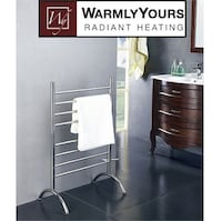 NEW STANDING PLUG IN TOWEL WARMER  Mississauga, L5N