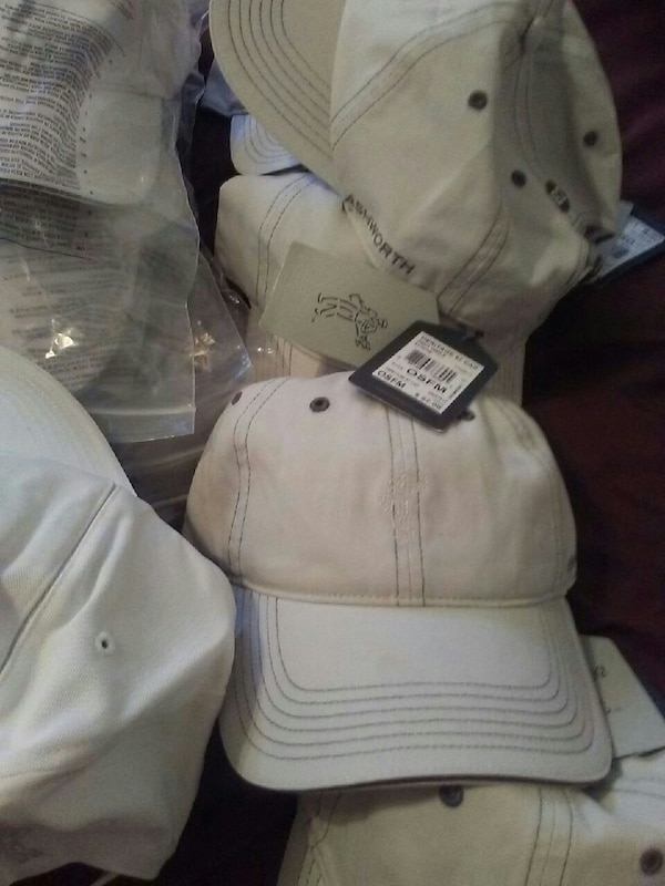 Used Ashworth golf hats worth 28 selling for 10. Each for sale in ... 9a2f7aecda4