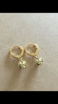 High quality gold plated ball earrings Sayreville, 08872
