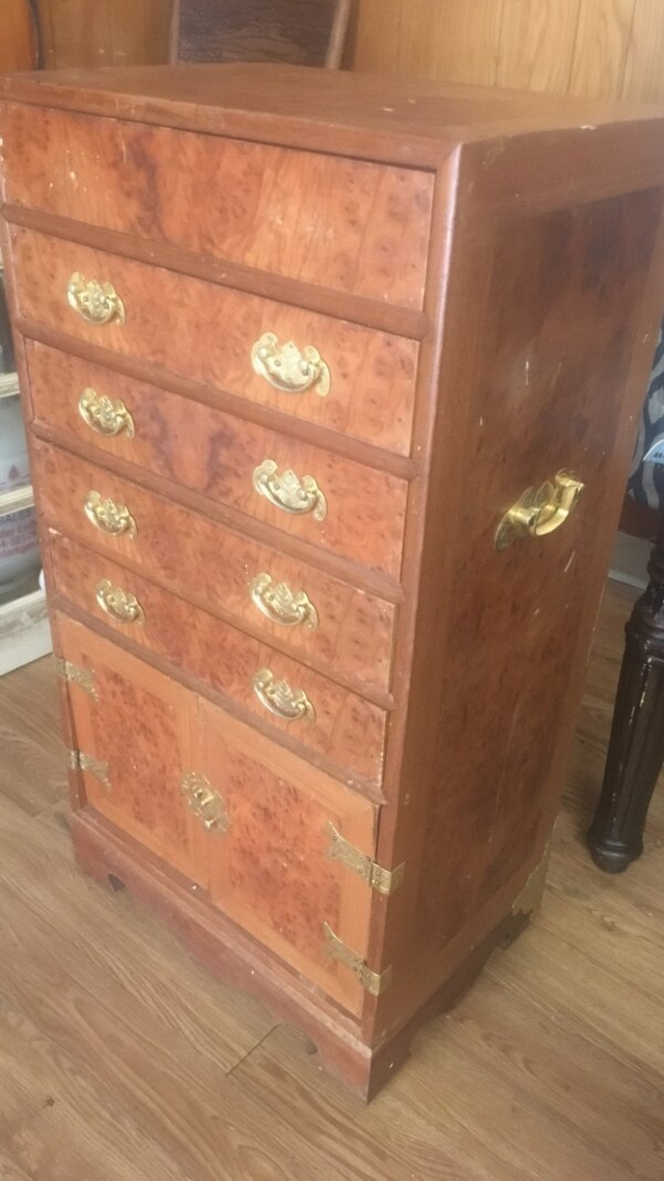 Antique lingerie chest for woman in in late 1800's and early 1900's