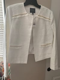 Winter White Crop Jacket (NWT) The Limited Columbus, 43016