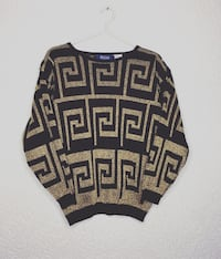Vintage BayClub Knit Sweater Small Women Vancouver, V5L 1E9