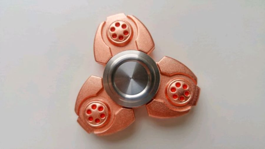 Rose Gold Fidget Spinner 1