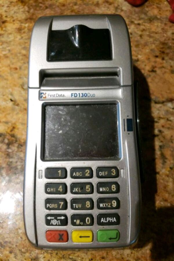 credit card terminal be3ee45d-0163-4324-a638-9c782b2bbefe