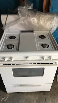 white 4-burner gas range oven Los Angeles, 90062