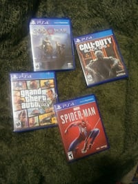 Ps4 Games for sale/trade Oakdale, 95361