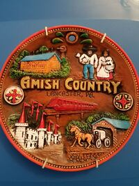 Amish Country decorative plate