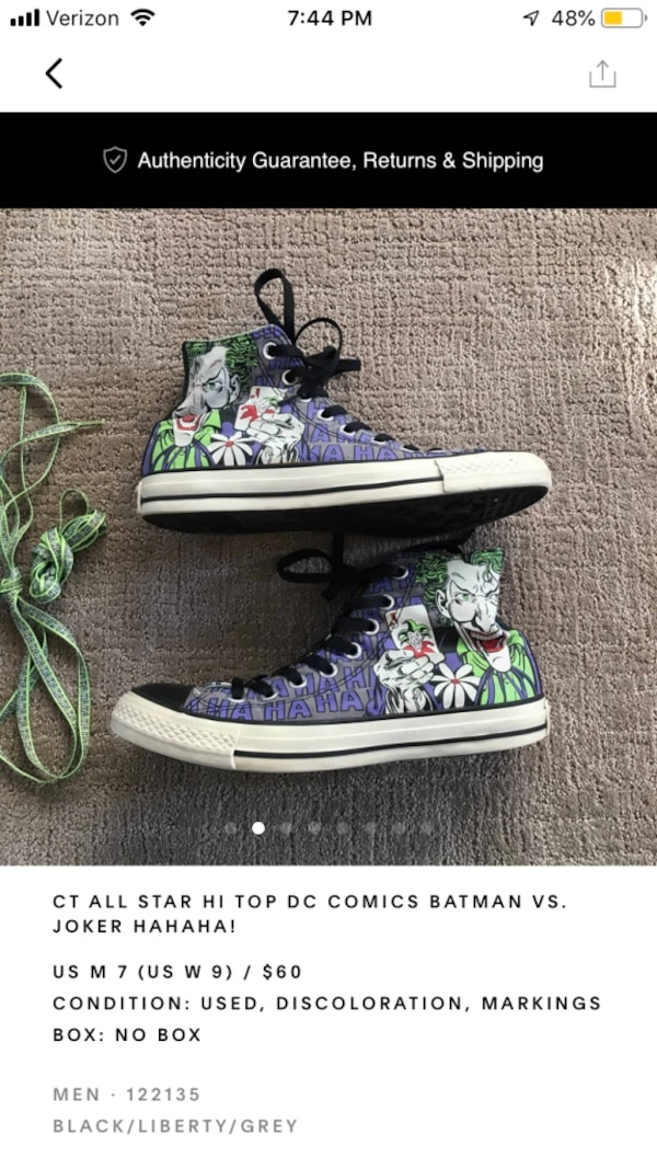 abdfb8aa9ea Used pair of purple high top sneakers for sale in Sandy - letgo