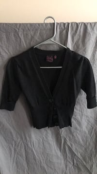 Black button-up jacket Frederick, 21704