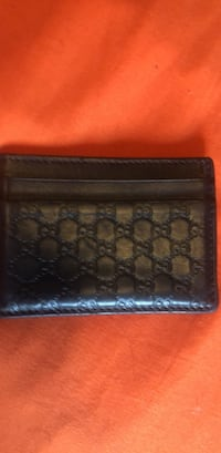Black leather  Gucci wallet Temple Hills, 20748