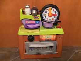 Little tikes table top stove
