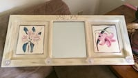 Vintage/shabby chic wall hanging with mirror entryway 3ft wide  Port Deposit, 21904
