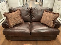 Ashley Axiom Leather Loveseat Ellicott City, 21042