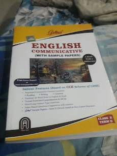 English Communicative with sample papers