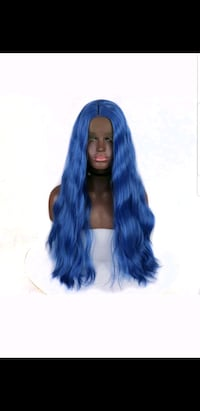 Lace front heat resistant new wig