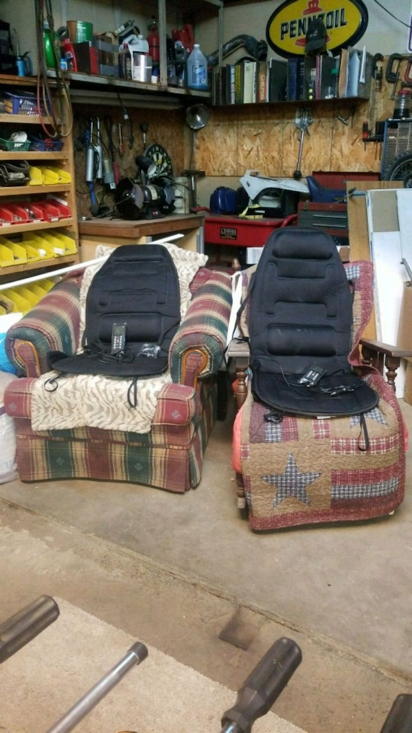 dd5309a4e098 Used Ac or DC Heated seat pad cover + built in massager for sale in  Lancaster - letgo