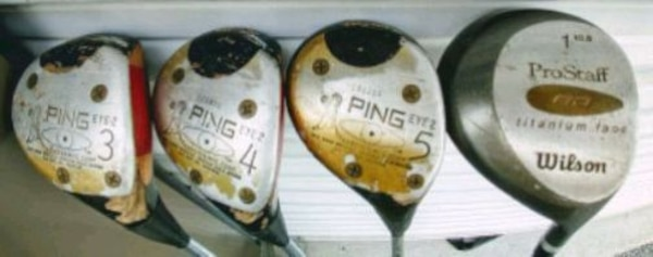 3 pcs ping eye 2 golf clubs woods d767ddf6-7a62-4aaa-8312-fac2e0a6b9dd