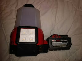 Milwaukee 2200 lumen flood light