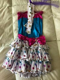 Polka Dot Child Dance Recital Costume Ellicott City, 21043