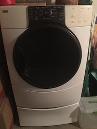 Kenmore HE Washer & Dryer w/ storage drawers, great working condition Burke, 22015