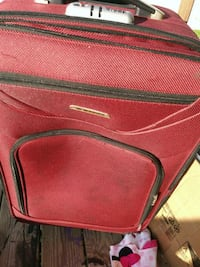 red and black leather bag Niles, 44446