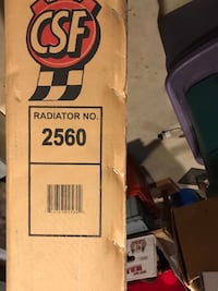 75-91 Ford Econoline Radiator brand new and never out of the box Rahway, 07065