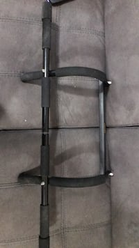black and gray pull-up bar 3745 km