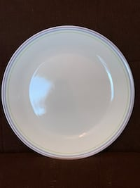Set of 4 Corelle Dinner Plates—Moonglow Pattern Vienna, 22180