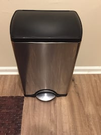 black and gray pedal trash bin Rockville, 20852