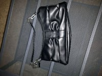 Black leather clutch Pickering, L1X
