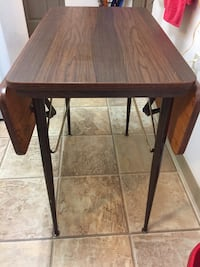 Vintage Small Drop Leaf Table Vancouver, V6B