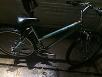 black and gray hardtail bike 1147 mi