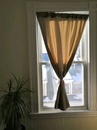 Curtains + Tension rod