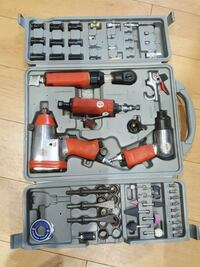 orange and grey impact wrench set with case Montréal, H1H 4T6