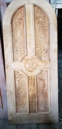 hand-carved antique wooden doors Saint Marys, N4X 1C5
