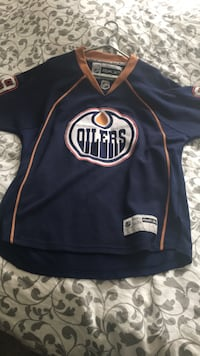 Oilers official jersey. #89 Gagner. Never wear it. Still excellent condition.  Edmonton, T5H 3N4