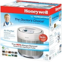 Honeywell Permanent True Hepa Round Air Purifier With Germ Reduction  M1C 0B6
